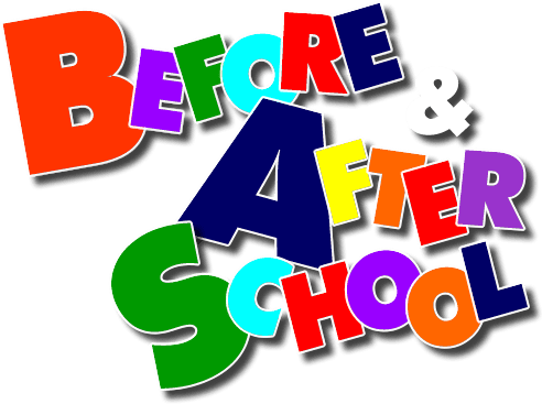 Before and after school graphic