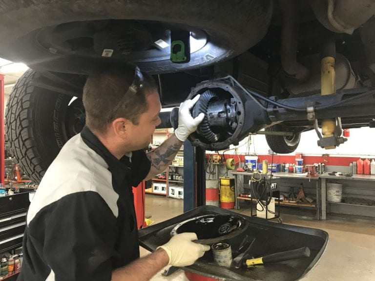 Have Beck's Auto Center check your differential