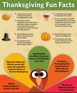 Beck's gives you fun facts and tips about Thanksgiving