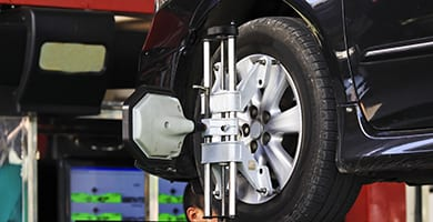 beck's auto center of lafayette offers tire alignment services to get you driving straight ahead