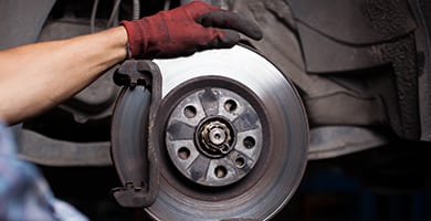 simple brake pad change to a full brake line replacement, beck's auto center has you covered