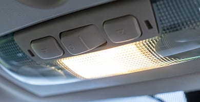 rely on the professionals at beck's to deal with diagnosing and replacing your interior light components