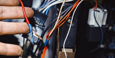 beck's auto center can take car of tedious wire repairs in your vehicle