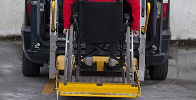 beck's auto center's braunability certified technicians are skilled and well-qualified to work on chair lifts for your commercial vehicle