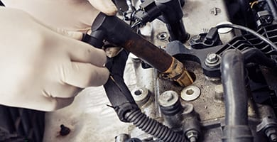 during your tune-up, beck's will inspect the ignition wires and will be replaced if necessary