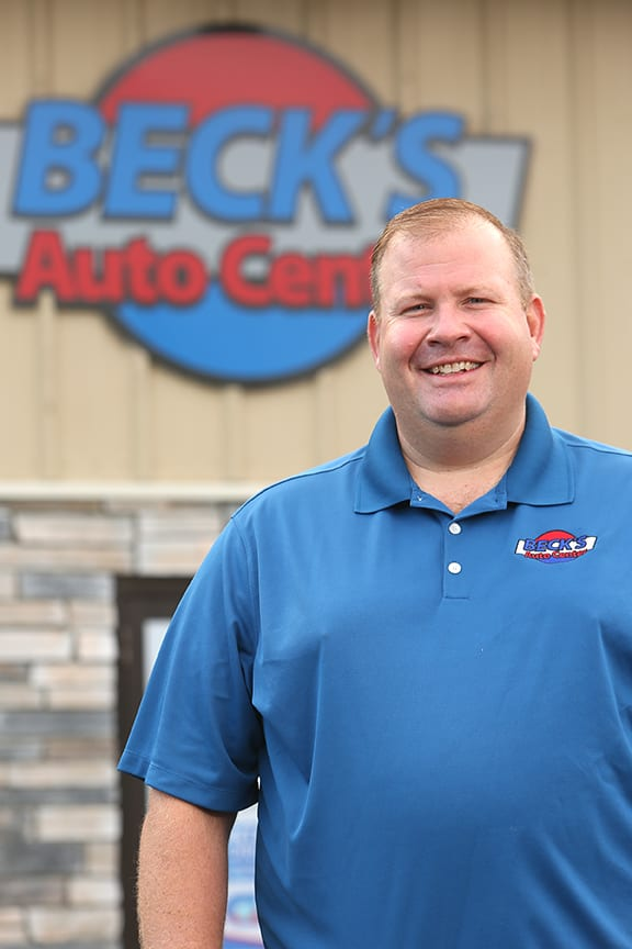 meet the owner of beck's auto center lafayette indiana, rob hancock