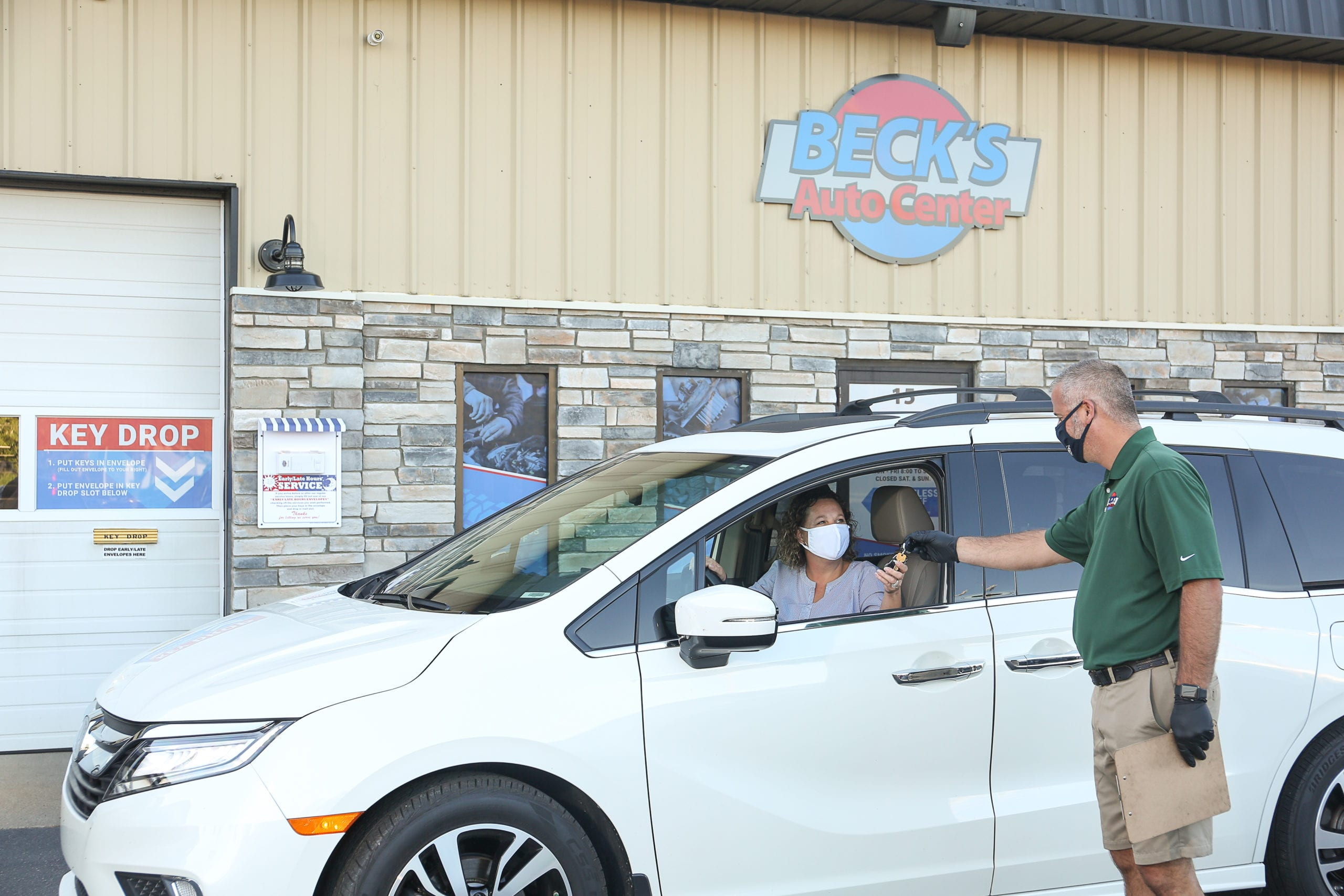 partner with beck's auto center lafayette indiana and be educated through the entire vehicle repair process