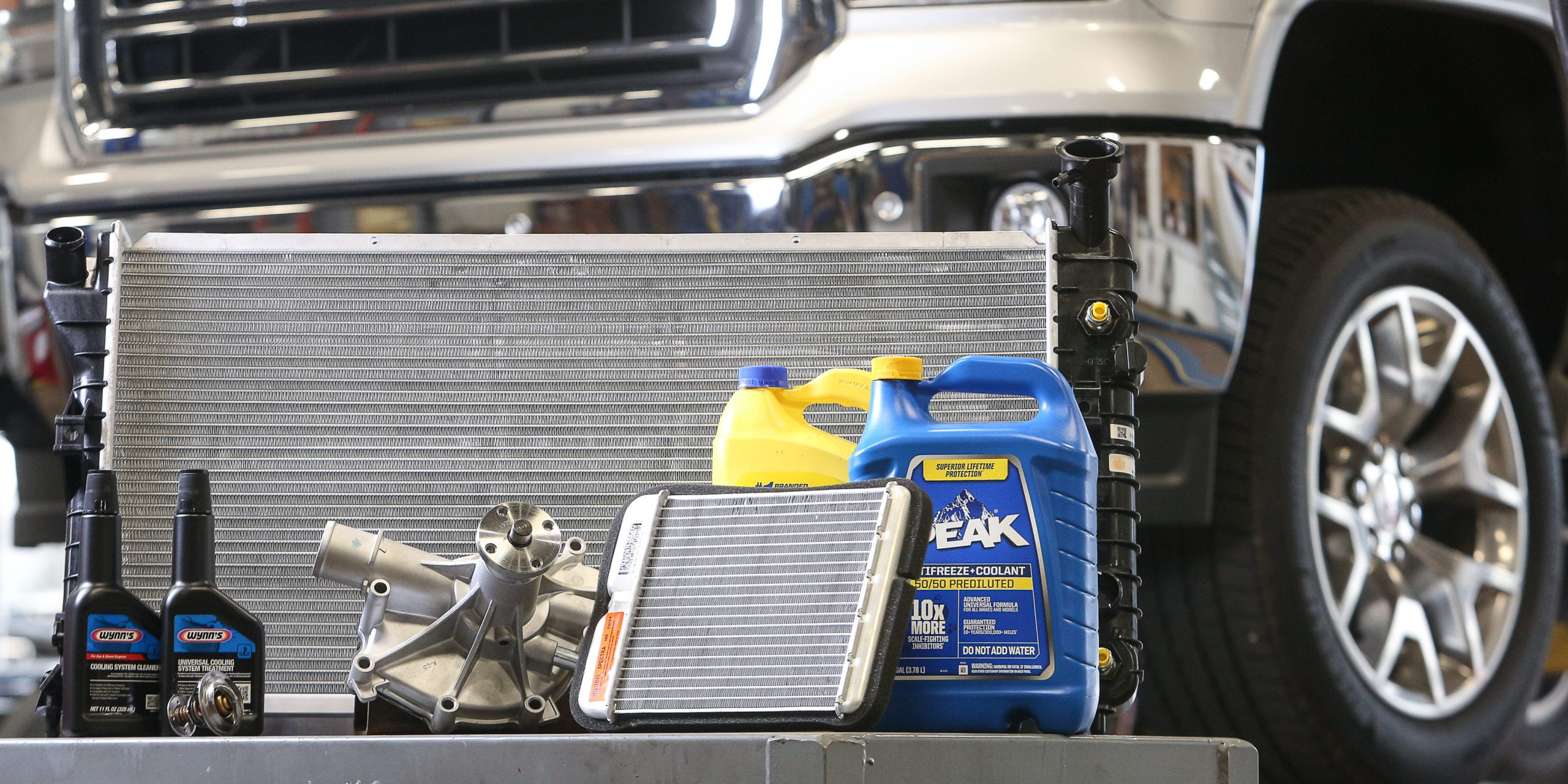 beck's auto center lafayette indiana displays your vehicles cooling system components