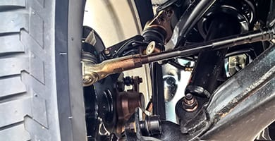 beck's auto center repairs and services your vehicle's tie rods