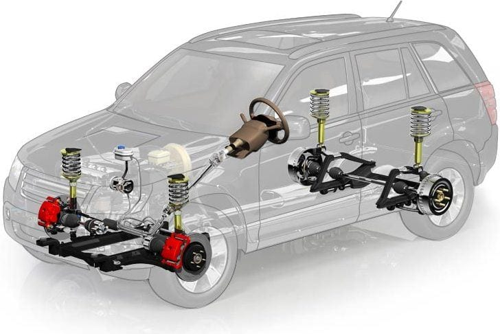 Shocks and struts are explained by Beck's Auto Center