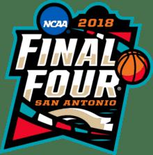 Final four NCAA 2018 logo